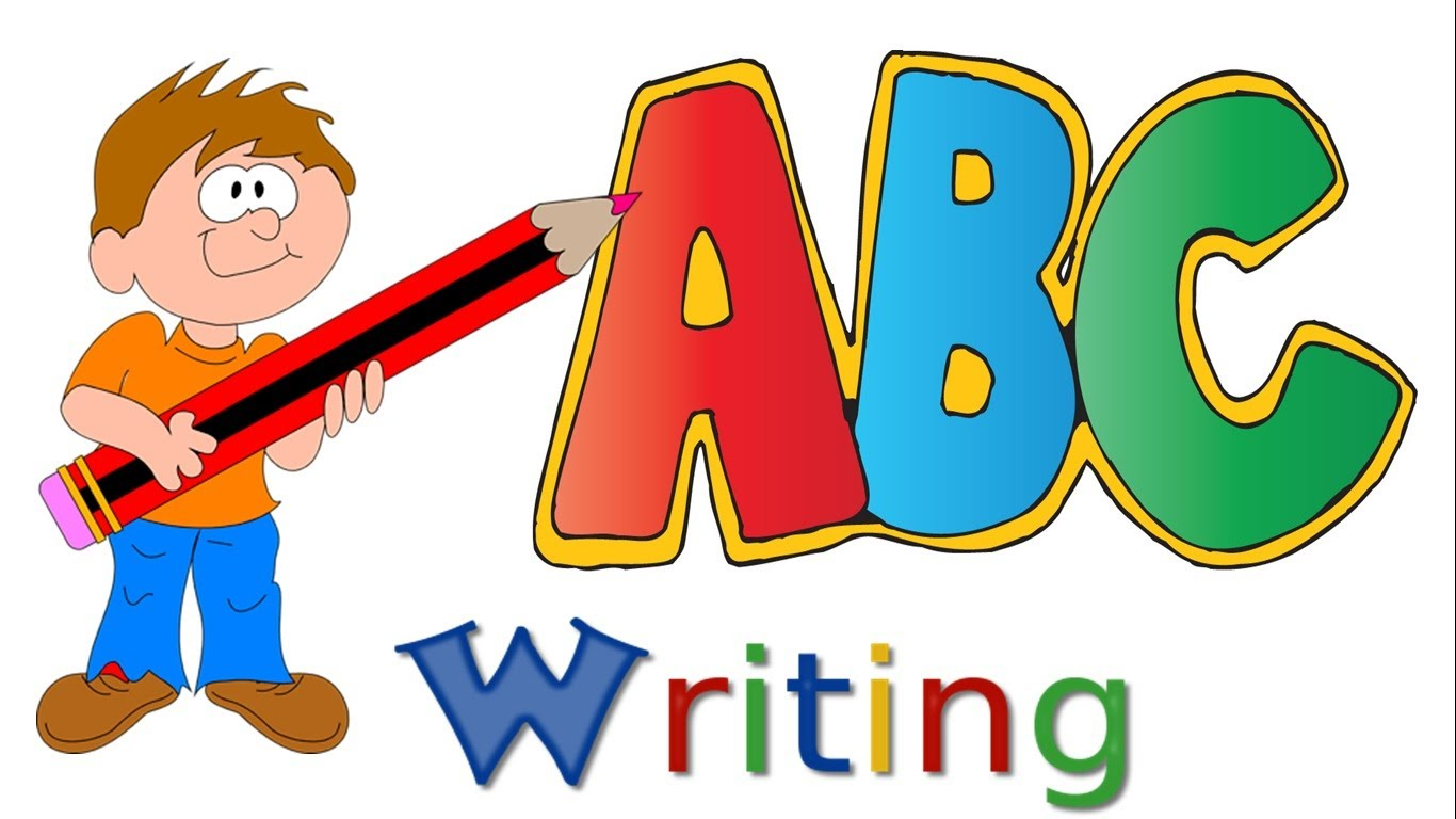 Homework clipart handwriting. Abc writing alphabet capital