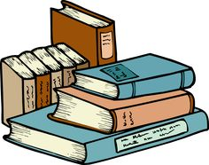 Homework clipart stack. Tall of books library