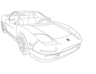 Honda drawing. S nsx spare parts