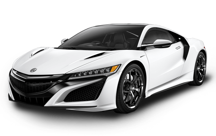 Supercar drawing detailed. Acura nsx front