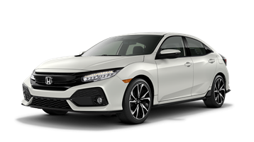 Honda drawing civic hatchback. The sporty white