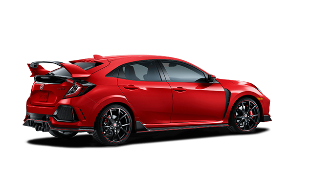 Honda drawing civic hatch. Type r from