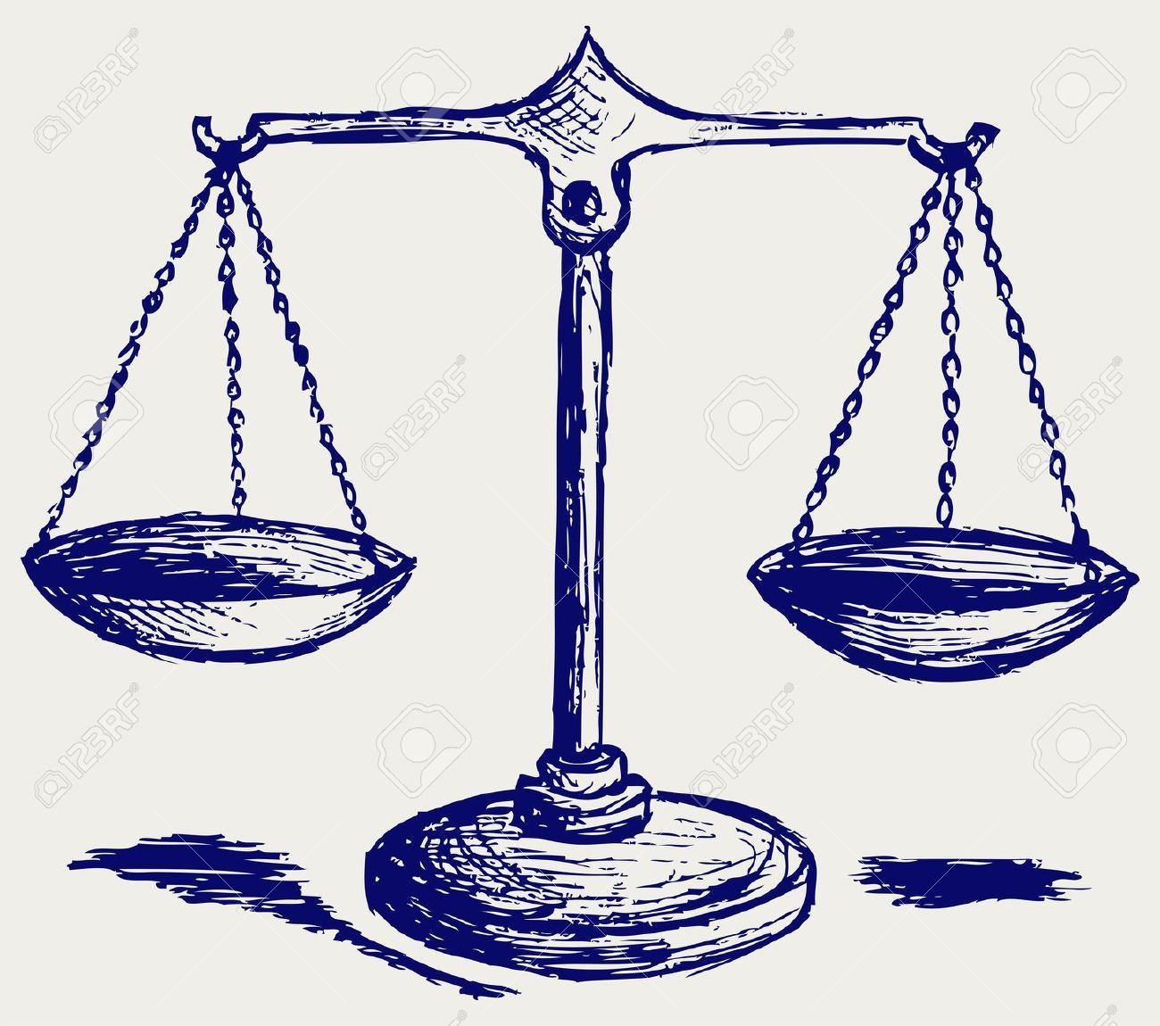 Scales clipart supreme law land. Justice scale drawing google