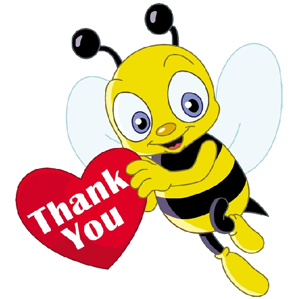 Honey bee cartoon png. Funny bees insect images