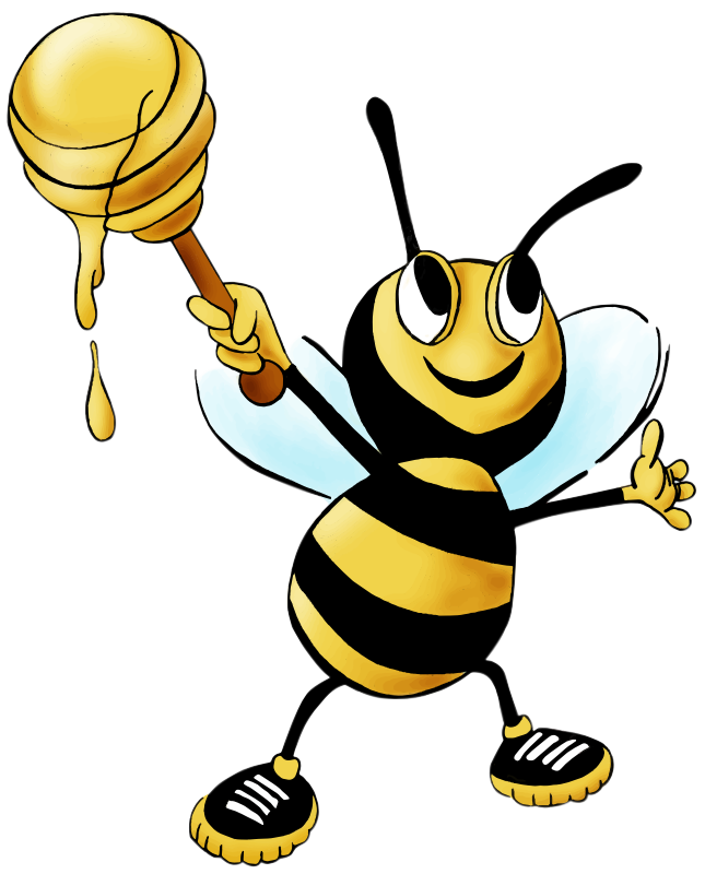 Honey bee clipart png. Collection of free