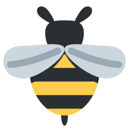 Bee icon png. Free honeybee insect honey