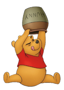 Honey clipart classic pooh. Winnie the disney character