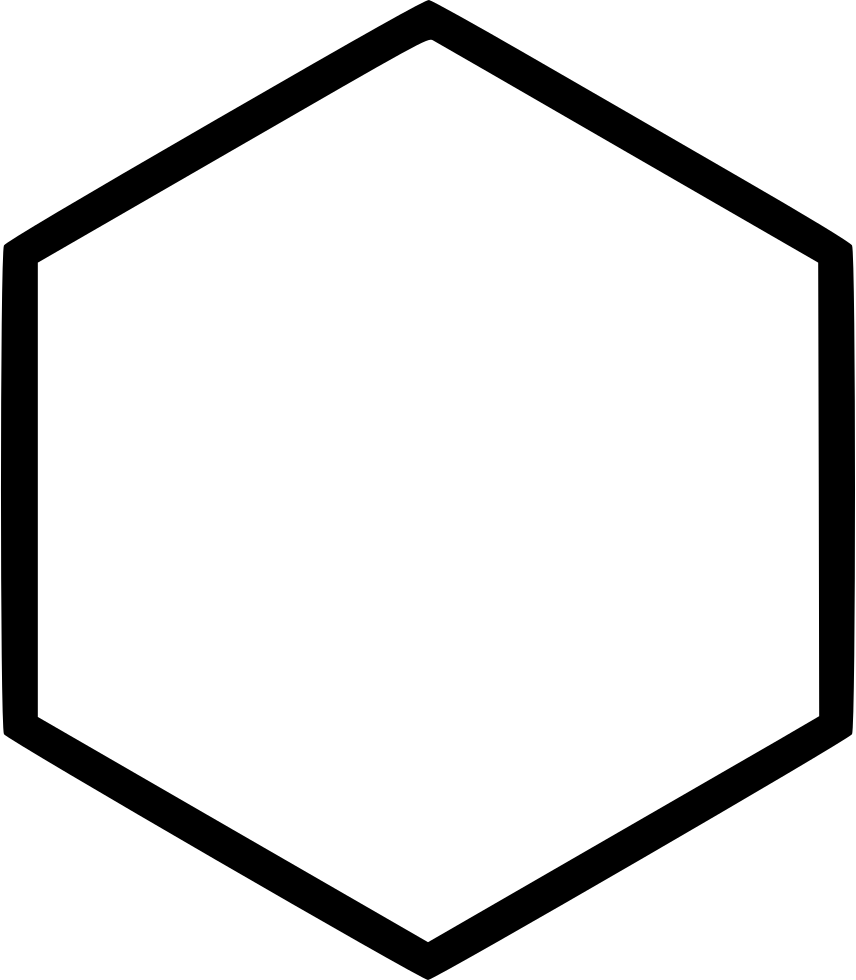 Honey clipart hexagon. Cell sign svg png