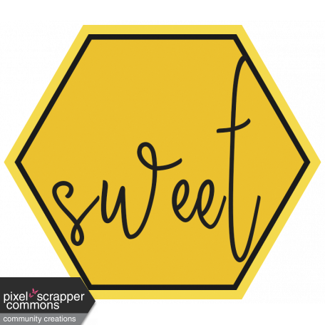 Honey clipart hexagon. Tag graphic by gina