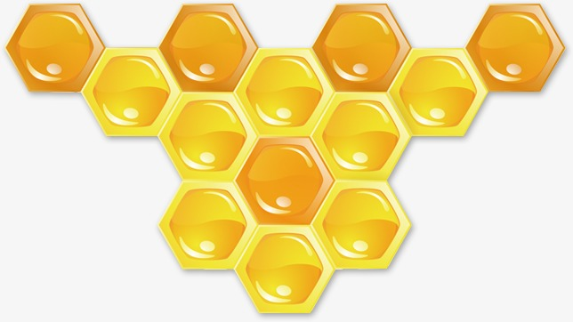 Honey clipart hexagon. Sugar bee png image