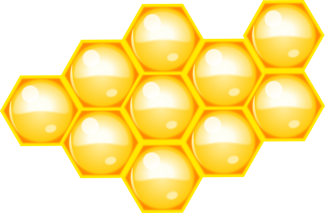 Honey clipart hexagon. Western bee honeycomb beehive