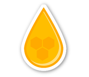 Honey drip png. Mk calories of natural