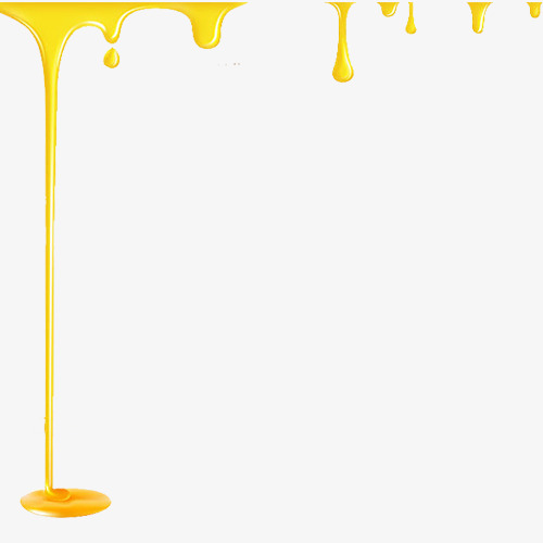 Honey clipart honey drip. Dripping yellow food png