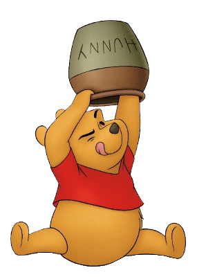 Honey clipart illustration. Winnie the pooh and