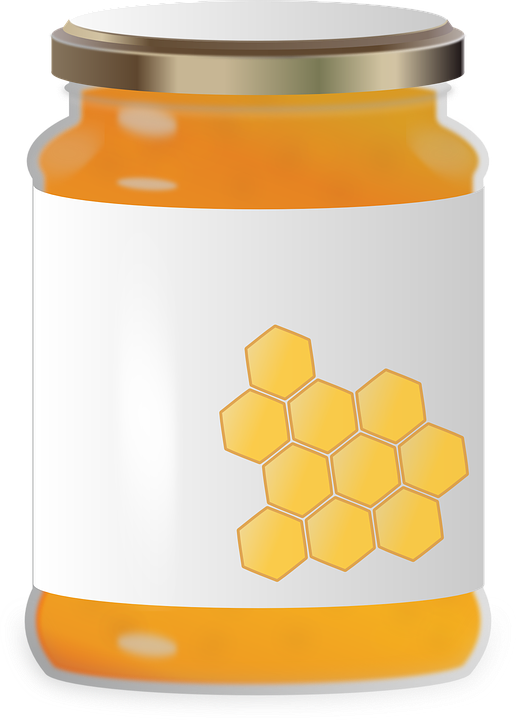Honey clipart label. Labels high quality custom
