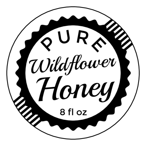 Honey clipart label. Vintage stamp bottle templates