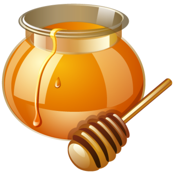 honey clipart label