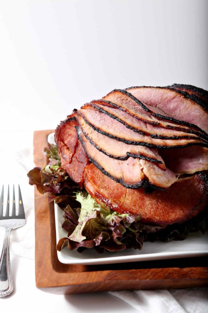 Honey ham and potatoes. For easter christmas other