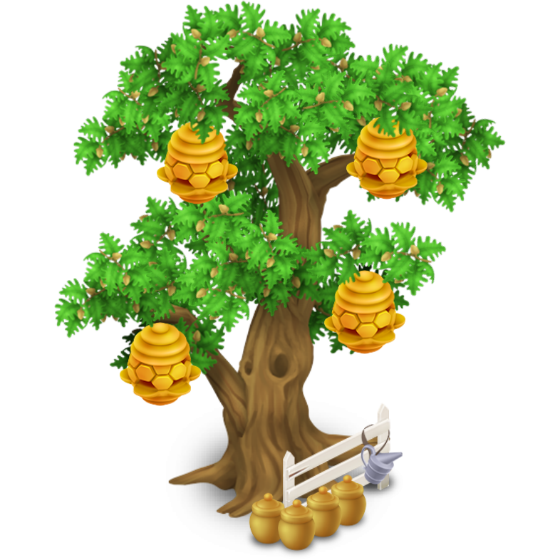 Honey hive png. Image beehive tree stage