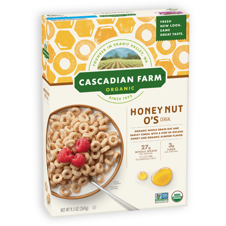 Honey nut png. O s cereal cascadian