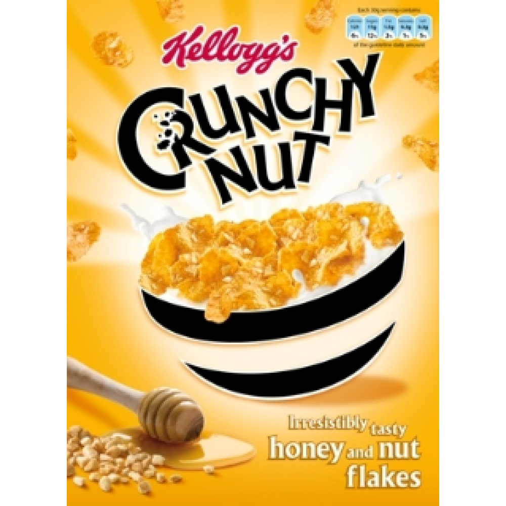 Honey nut png. Kelloggs crunchy g pm