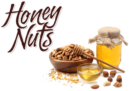 Honey nut png. Dolce nuts vugma