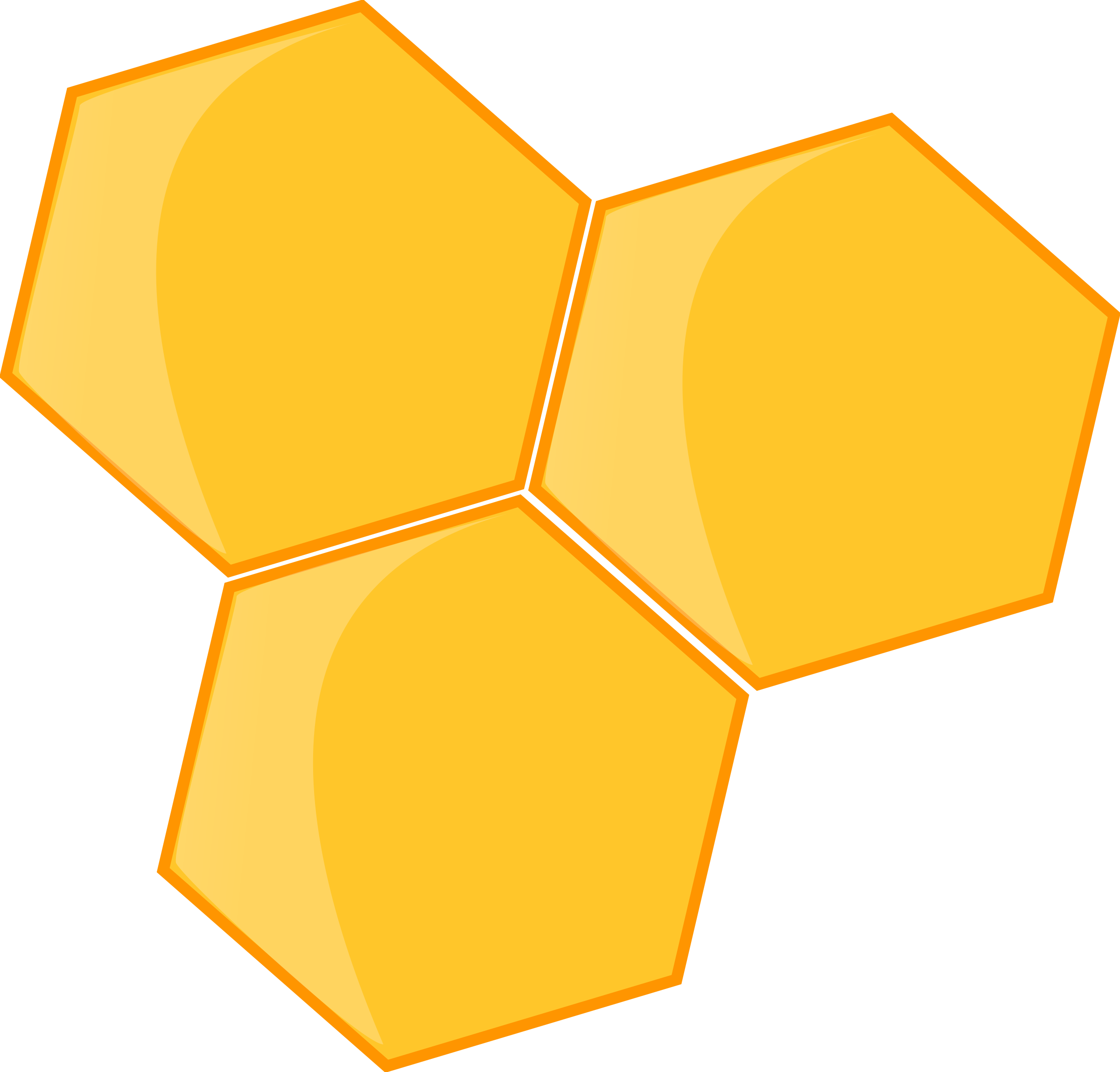 Honey transparent yellow. Background png names