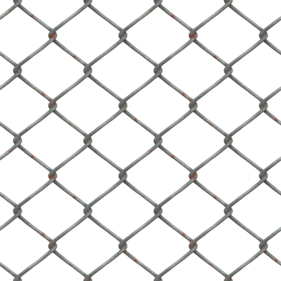 Broken chain link fence png. Metal stock cc large