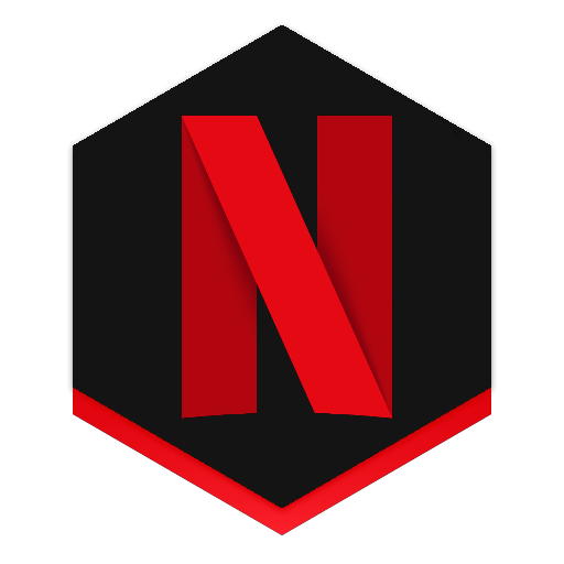 Netflix icon by roxor. Pubg honeycomb rainmeter png picture black and white stock