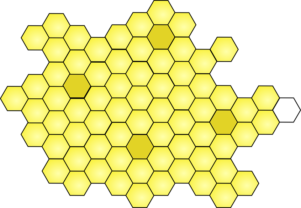 Honeycomb clipart beeswax. Free photo cell hexagon