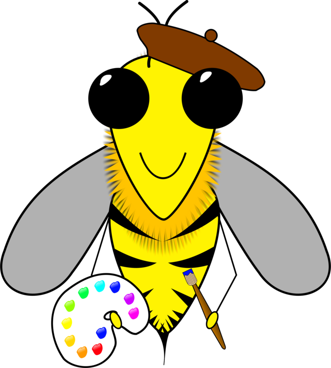 Beehive clipart tree clipart. Insect artist free commercial
