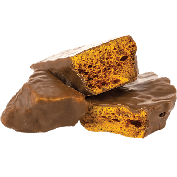 Honeycomb stick png. Covered in chocolate transparent