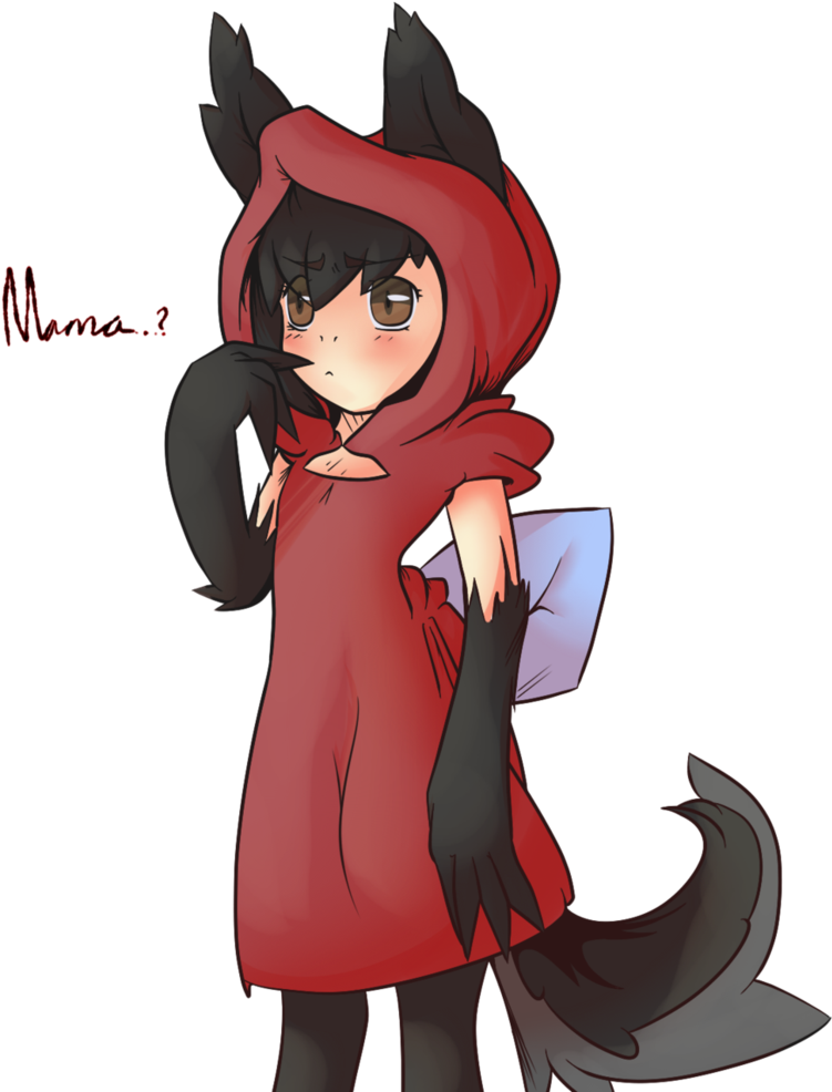 Hooded drawing detailed. Download little red riding