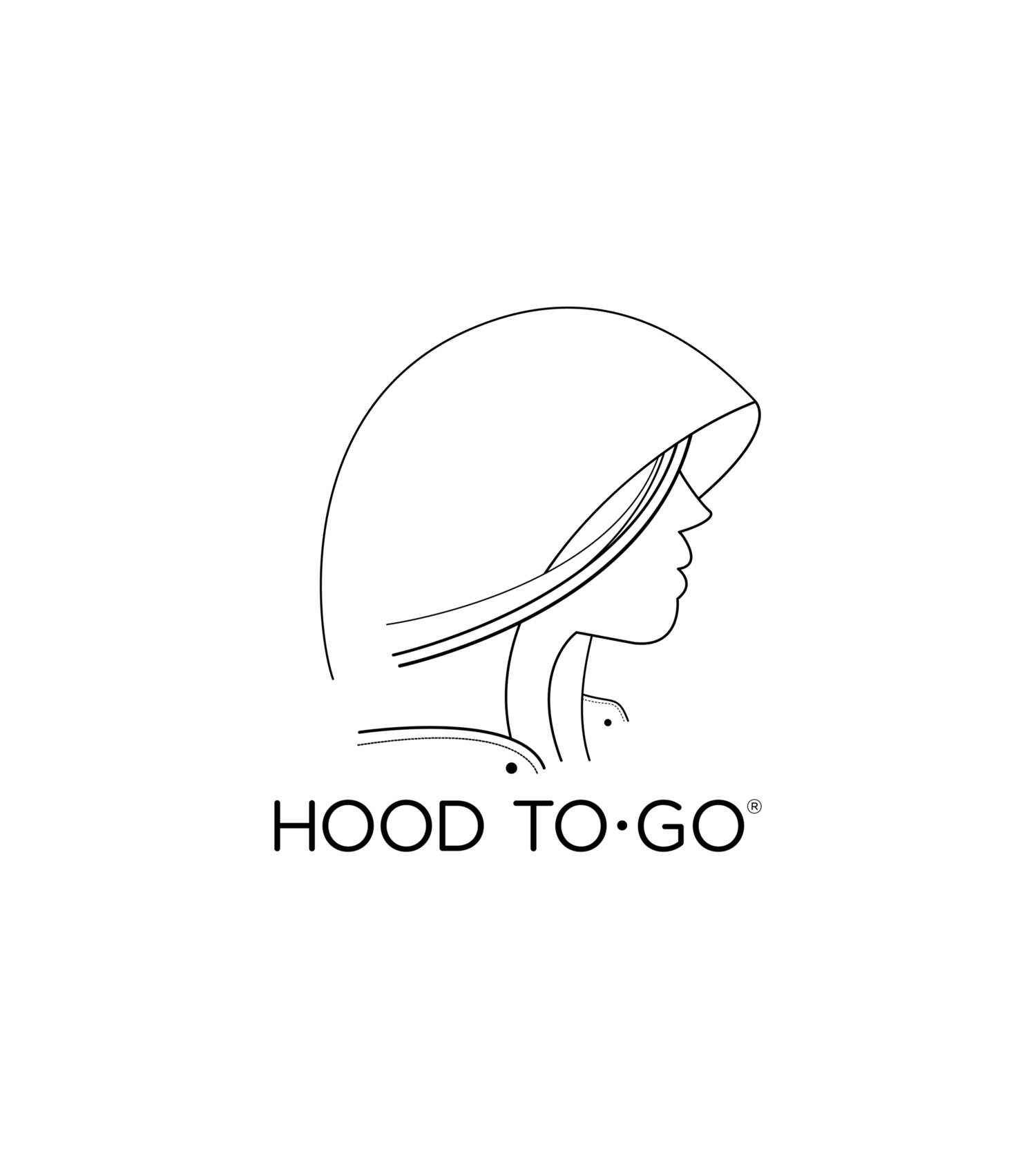 Hooded drawing hood. To go home