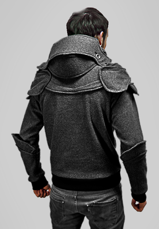Hooded drawing knight. The official hoodie hoodies