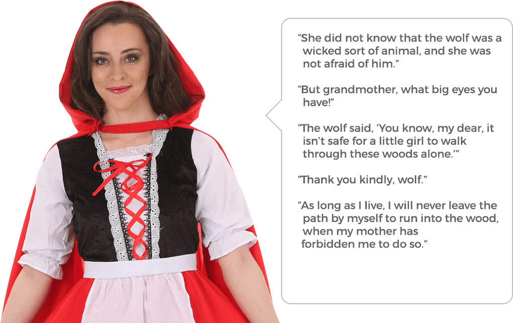 Hooded drawing little red riding hood. Costumes halloweencostumes com quotes
