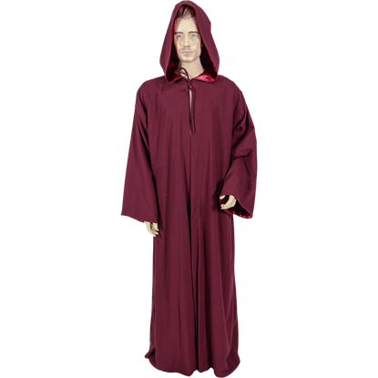 Drawing cloaks hooded robe. Mens ritual robes historic