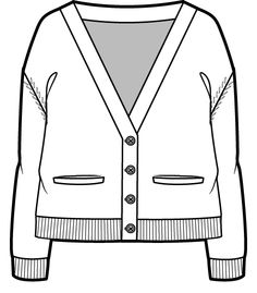 Jacket clipart cardigan. Image group striped technical