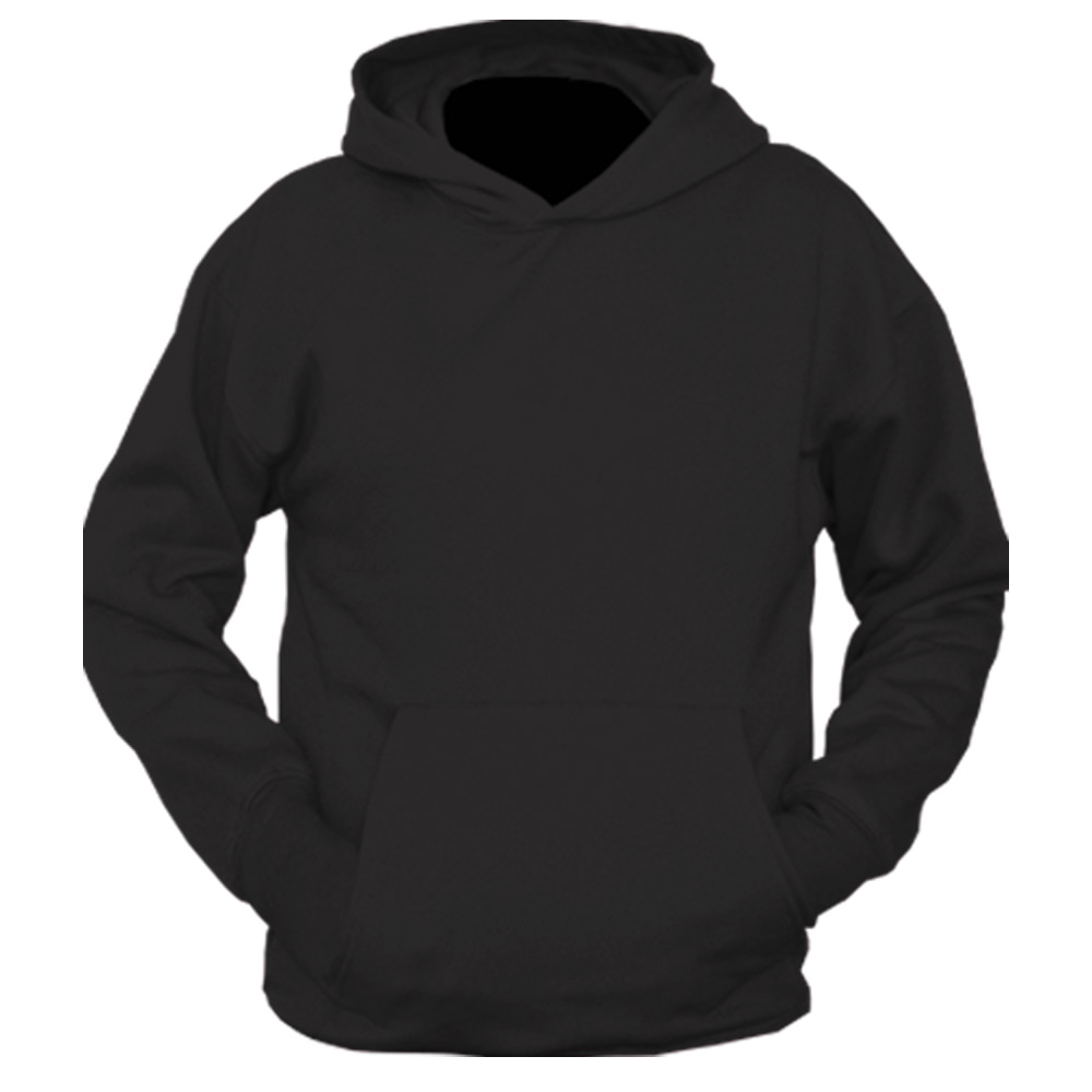 Hoodie template front