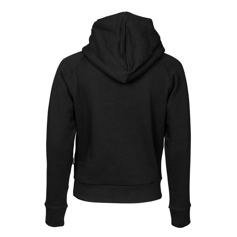 Hoodie transparent black back. Women brand the official