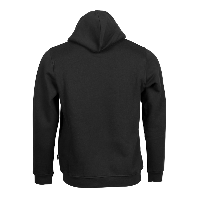 Hoodie transparent black back. Brand the official balr