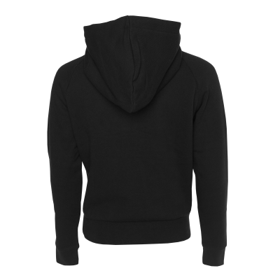Hoodie transparent black back. Women club the official