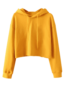 Hoodie transparent cropped. Pullover sporty in
