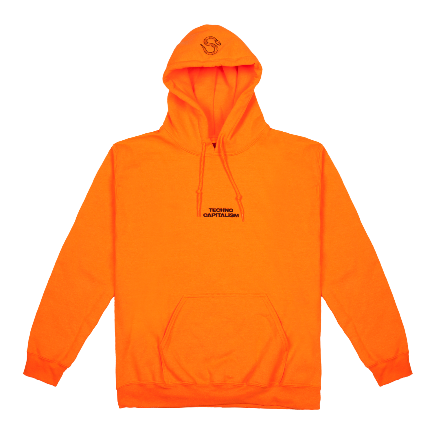 Hoodie transparent embroidery