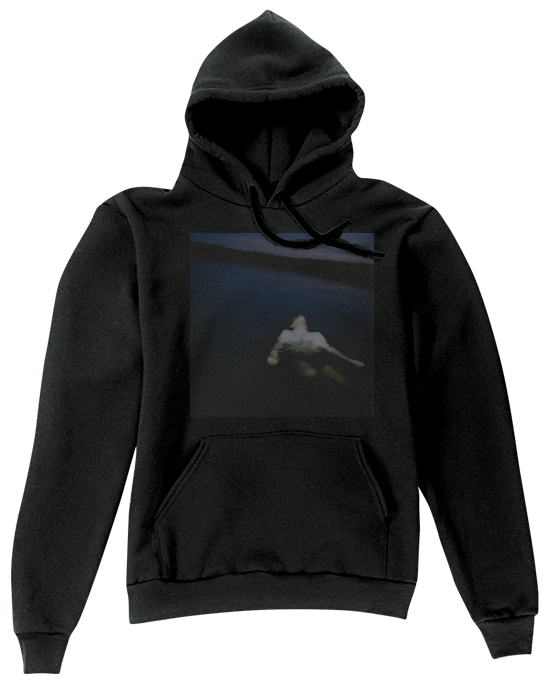 Hoodie transparent oversized. Idkaboutu chainz image of