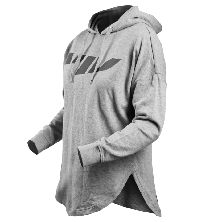 Hoodie transparent oversized. Solid nikkis
