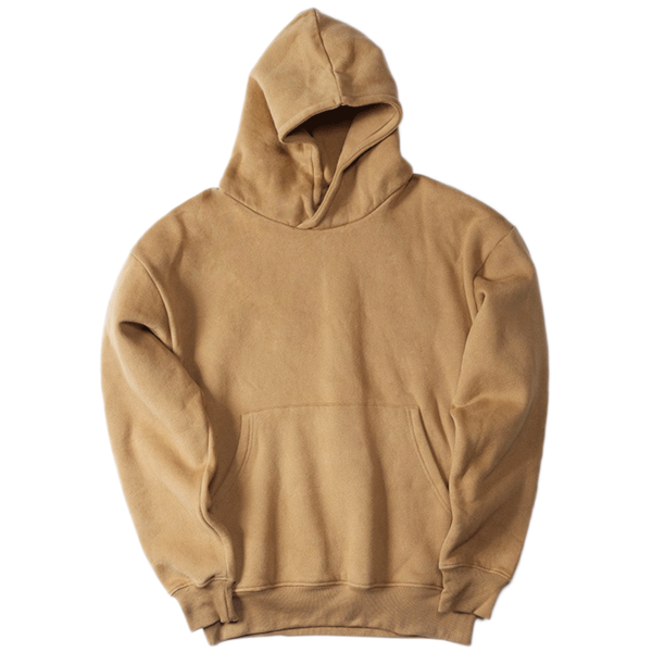 Hoodie transparent oversized. Dsrcv essential camel house