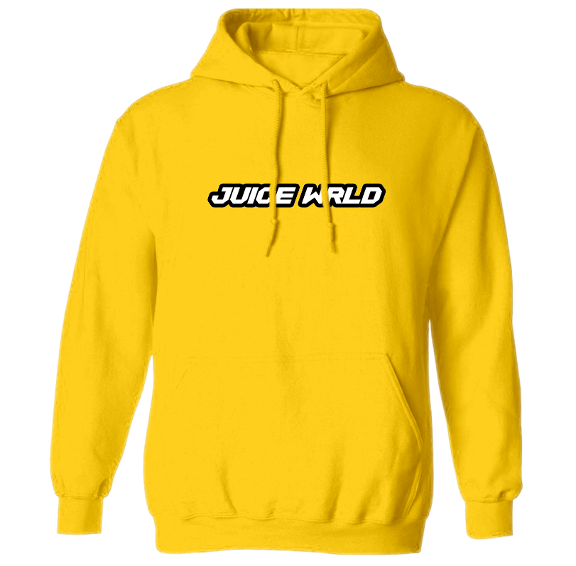Hoodie transparent yellow. Juice wrld juicewrld