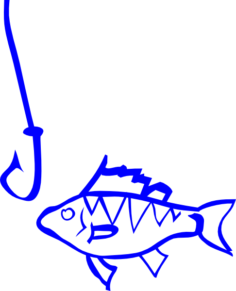 Hook clipart fishing hook line. Fish and clip art