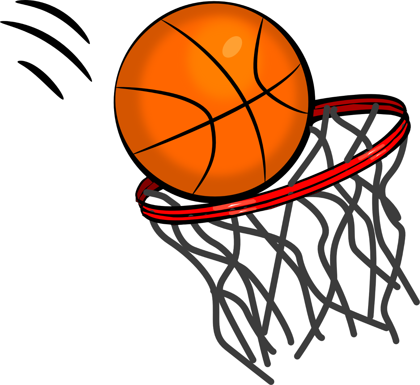 Hoop clipart. Basketball free